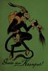 krampus postcard_V.2sm (missmonstermel) Tags: postcard card krampus missmonster