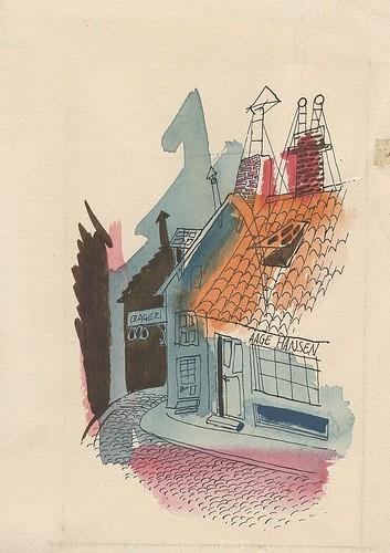 1949 trip to Denmark a