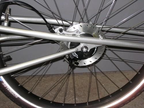 Xtracycle Rear Brake