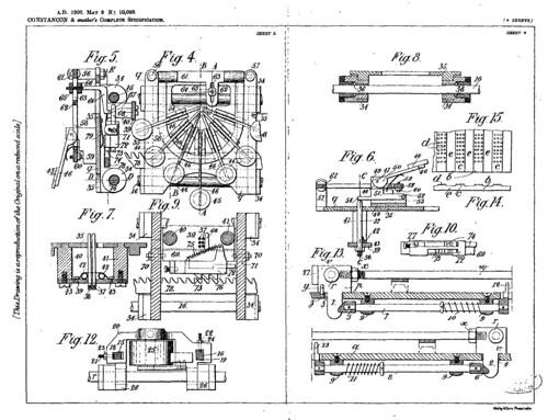 Patent   Constançon (GB 1908)