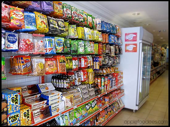 Snacks section