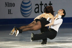 Anna Cappellini and Luca LaNotte - ITA - 2nd Ice Dance in Lake Placid (Nino H) Tags: anna lake ny ice sport dance luca place skating center 2nd skate figure olympic placid patinage lanotte cappellini artisitique cancernet
