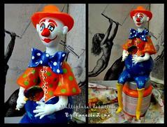 Pirulito (Art Vanessa Lima) Tags: clown artesanato paz palhaos cabaas porongos vanessalima