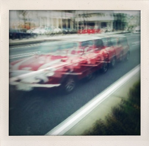 Car by Slow Shutter