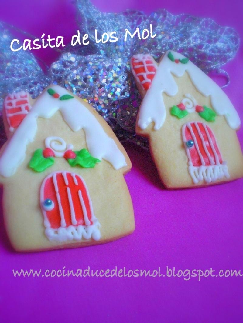 5galletas casa de navidad nevada