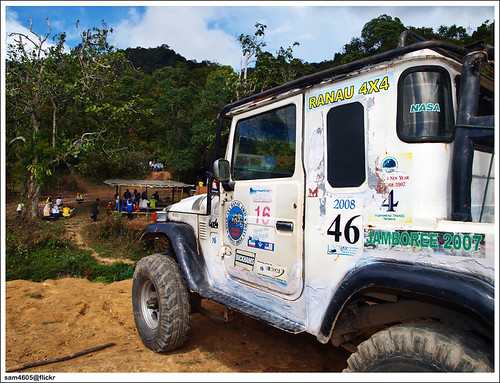Ranau 4x4 Challenge - Kampung Tagudon Ranau - Toyota Landcruiser BJ43