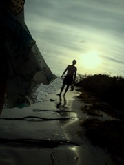 breezy (oyahuasca) Tags: sunset silhouette breeze