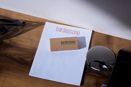 Bardessono: Table