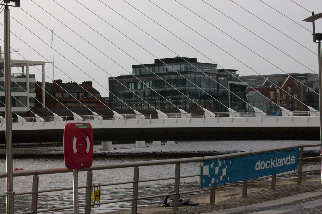 Dublin Docklands - New Bridge