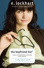 The Boyfriend List by E. Lockhart published by Random House