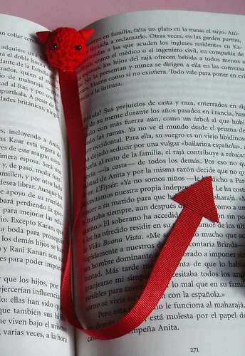 Devil bookmarker