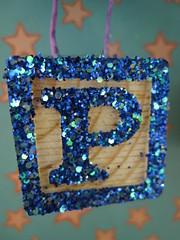 Glittered Block!