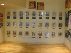 Artist shoes @ Vans Flagship Store Las Vegas