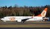KBFI Gol Transportes Aereos Boeing 737-8EH PR-GGU (djlpbb40) Tags: seattle brazil test plane airplane nikon aircraft boeing runway gol 737 boeingfield 737800 bfi d40 kbfi golairlines 7378eh prggu