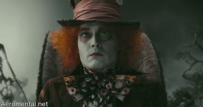 Alice in Wonderland Johnny Depp