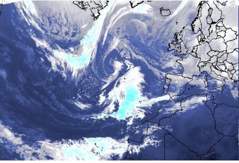Atlântico (imagem satélite) 17-12-2009