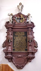 Basel, Petersplatz, Kirche St. Peter, Marienkapelle, Epitaph (St. Peter's Church, St. Mary's Chapel, epitaph) (HEN-Magonza) Tags: basel epitaph petersplatz stpeterschurch stpeterkirche grabdenkmal stmaryschapel marienkapelle