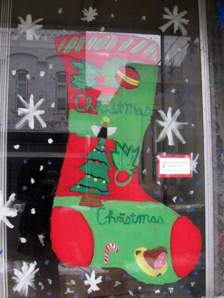 Ham Stocking (Click to enlarge)