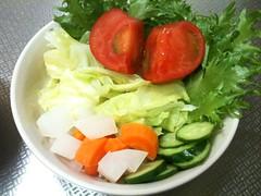 朝食サラダ(2011/5/11)