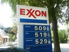 Watergate Exxon gas prices
