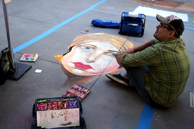 artist + woman