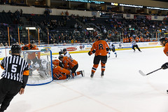 "Missouri Mavericks vs. Wichita Thunder, February 7, 2017, Silverstein Eye Centers Arena, Independence, Missouri.  Photo: John Howe / Howe Creative Photography • <a style=""font-size:0.8em;"" href=""http://www.flickr.com/photos/134016632@N02/32422663870/"" target=""_blank"">View on Flickr</a>"