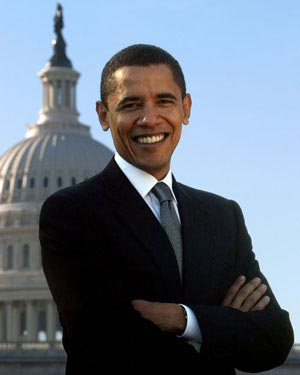 His Barackness, The Big O, born 1961.