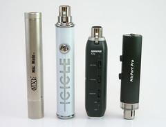 Four USB Mic Pres