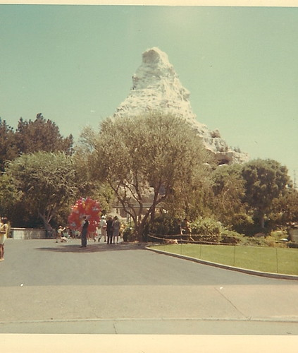 Disneyland Matterhorn 1968
