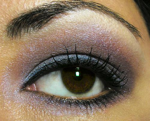 smoky purple eye makeup. Soft Smoky Purple