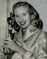 Eva Marie Saint with Oscar for On the Waterfront (cooperscooperday) Tags: oscar academyawards evamariesaint onthewaterfront bestsupportingactress actressinasupportingrole