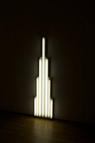 Flavin - Monument for V Tatlin