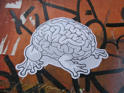 © C-Monster  / Jumping Brain PasteUp