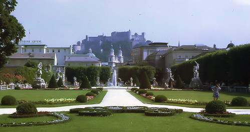 Salzburg '70 Garden and Fortress