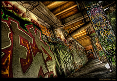 Photowalk Grenoble #03 (Yoan Bernabeu) Tags: street old city urban art photoshop grenoble canon eos artistic grafiti graf graph peinture processing photowalk bastille hdr ville vieux bernabeu batiment lightroom urbain artistique yoan bombre traitement photomatix abanonned 400d photowalkgrenoble