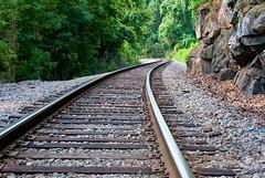 Riverside Line (Sky Noir) Tags: light james south bank rail line textures runs along contrasting skynoir bybilldickinsonskynoircom