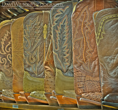 Tutorial Image - Cowboy Boots (hideous tone mapping)