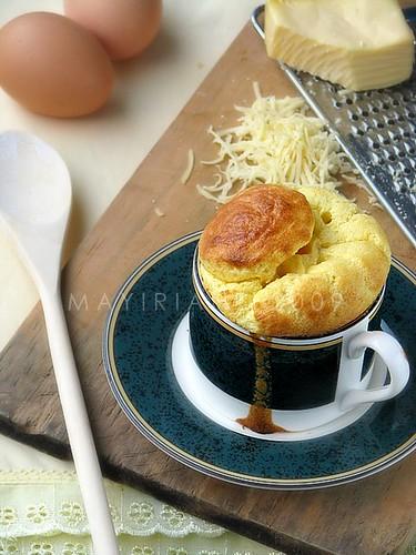 KBB #12 : Cheesy Savoury Souffle