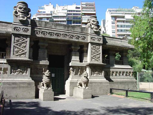 Le Temple de Indostan du zoo de Buenos Aires.