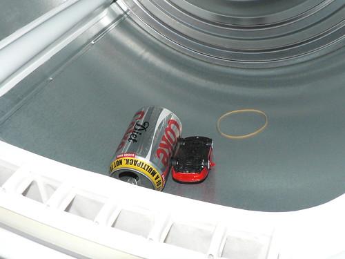 Car in Dryer