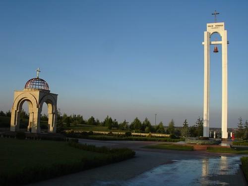 Construcţiile creştine ale Memorialului de la Şerpeni