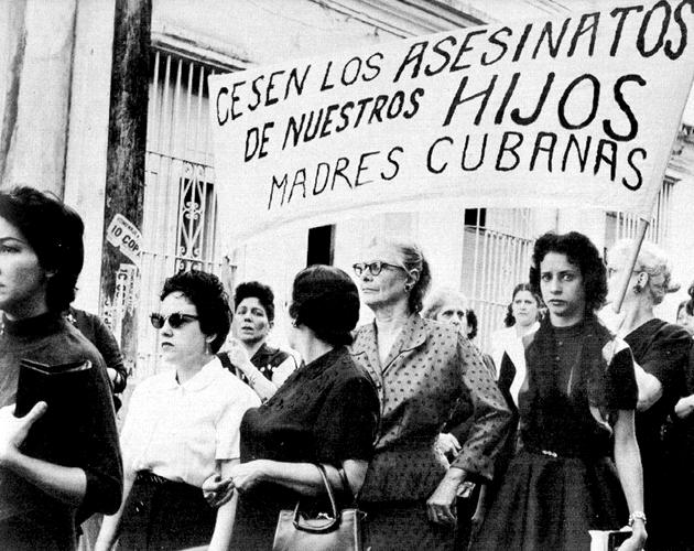 Santiago Mothers Protest, Cuba July 1957