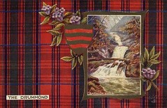 Old Clan Drummond Postcard