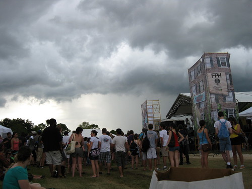 Clouds over Summerfest