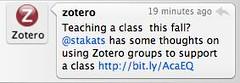 Thanks, Zotero!