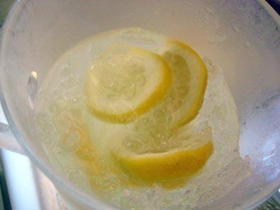 Somewhat frozen lemonade
