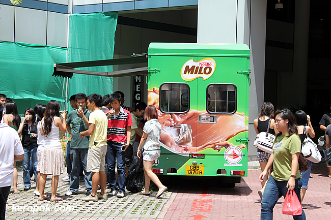 It's the season of free milo again