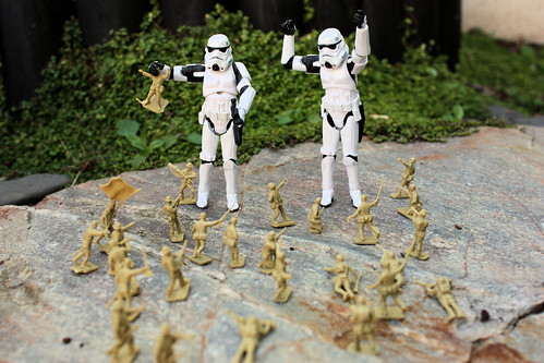 Soldiers Vs. Stormtroopers