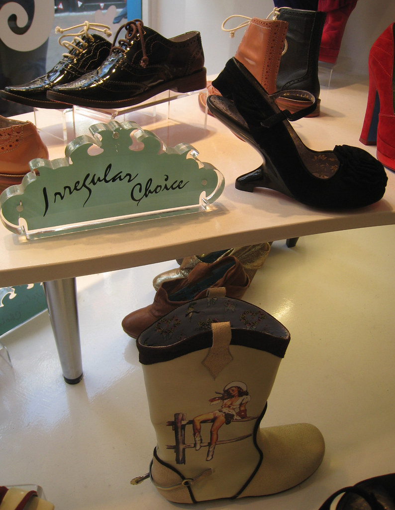 Shoes at Irregular Choice