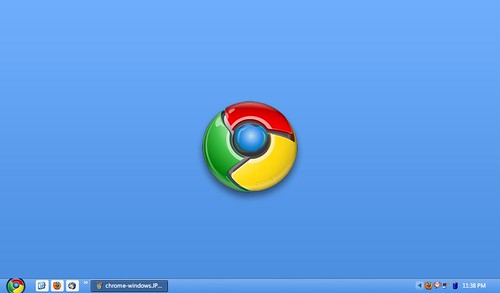 wallpaper google chrome. Google chrome OS desktop